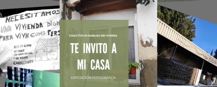 """EXPOSICIÓN FOTOGRÁFICA """"TE INVITO A MI CASA"""""""